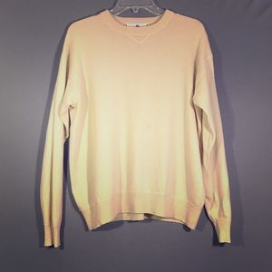 Saks Fifth Avenue Yellow Cashmere Sweater